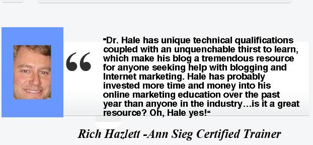 Rich Hazlett- Testimony