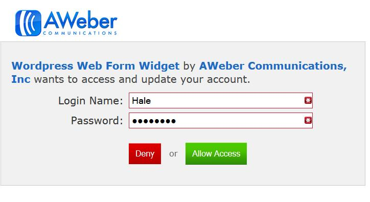 how to connect aweber to leadpages