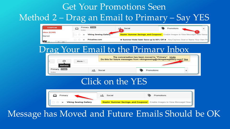 Gmail Slap - Gain Your Visibility Back