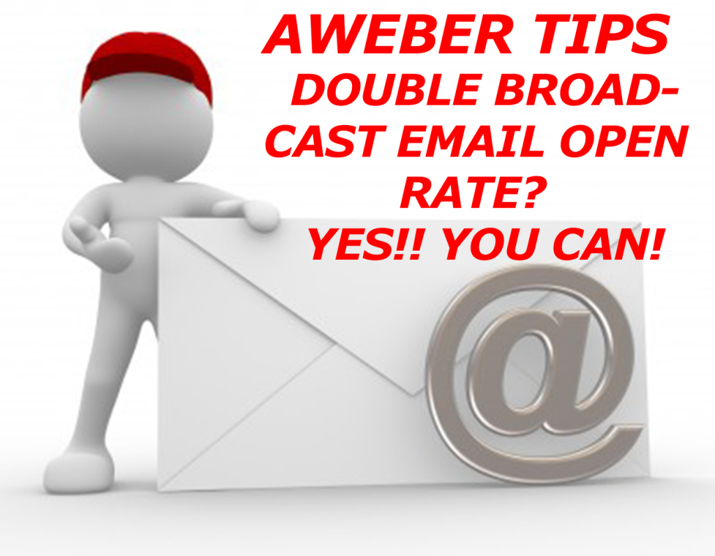 aWeber Tips-Double-Email-Open Rate