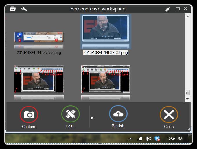 Saving Time - ScreenPresso Image Gallery