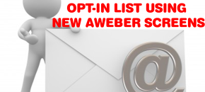 Create a Single Opt-In List in AWeber