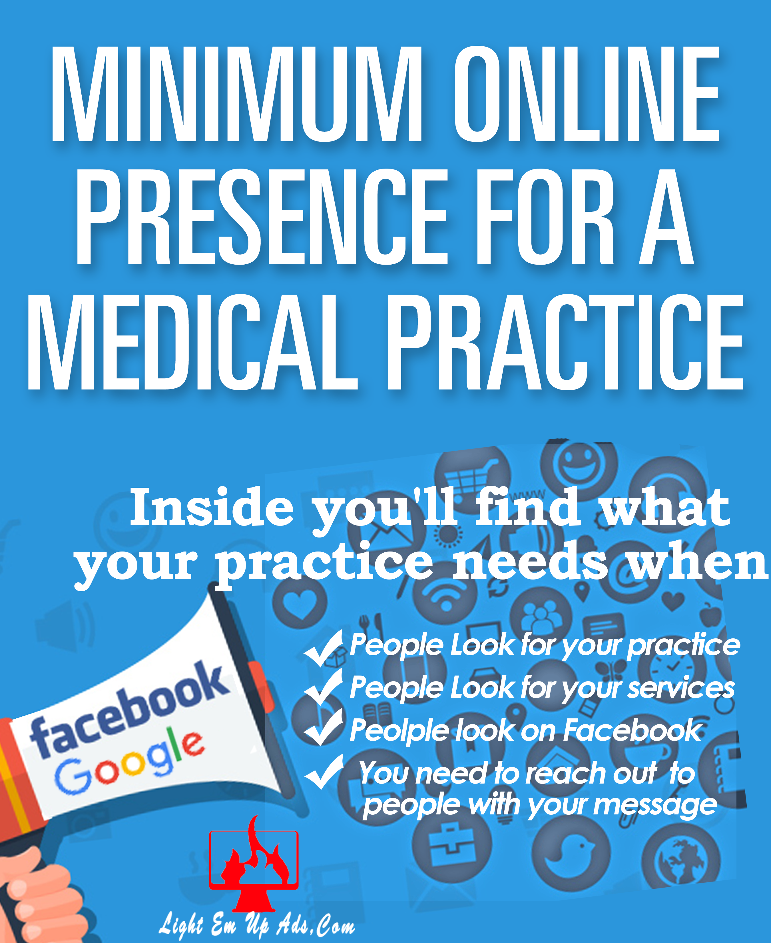 Minimum On-line Presence for Medical Practices.